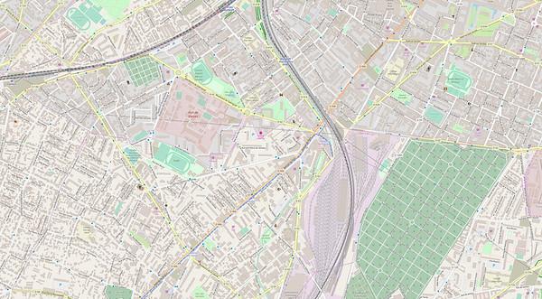 Paris Stadtplan Maps No. 7
