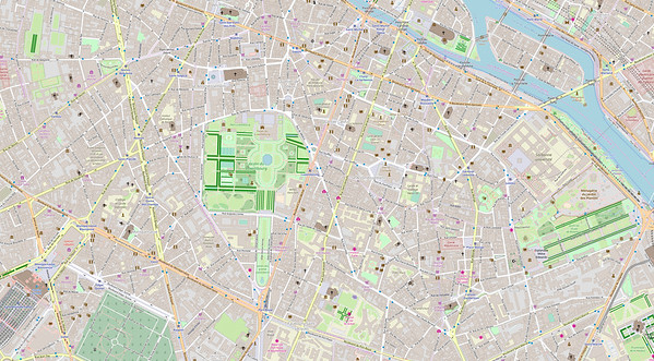 Paris Stadtplan Maps No. 16