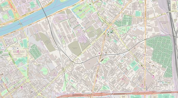 Paris Stadtplan Maps No. 13b