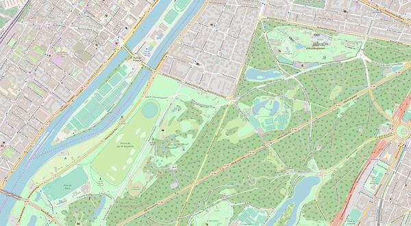 Paris Stadtplan Maps No. 2
