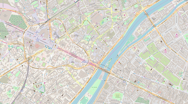 Paris Stadtplan Maps No. 1