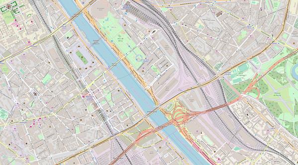 Paris Stadtplan Maps No. 20