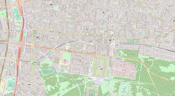 Paris Stadtplan Maps No. 30