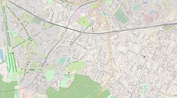 Paris Stadtplan Maps No. 6