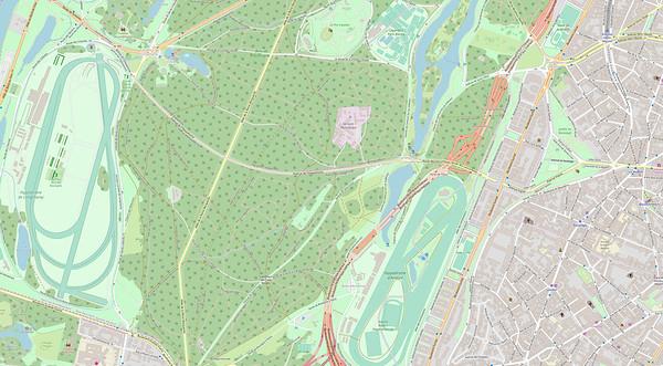 Paris Stadtplan Maps No. 3
