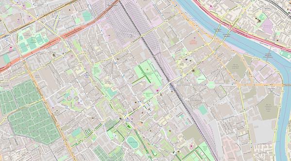 Paris Stadtplan Maps No. 19