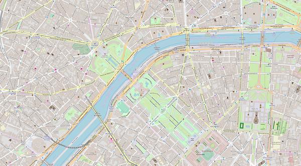 Paris Stadtplan Maps No. 10