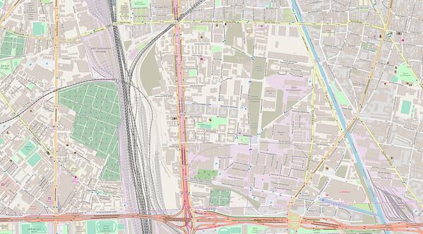 Paris Stadtplan Maps No. 33