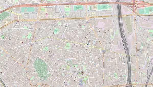 Paris Stadtplan Maps No. 14