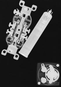 NEMA5-15, vidicon tube, and small analog meter.