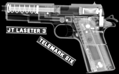 Airsoft pistol.