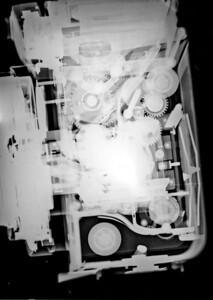 Yashica Mat-124G twin-lens reflex 6x6cm camera.