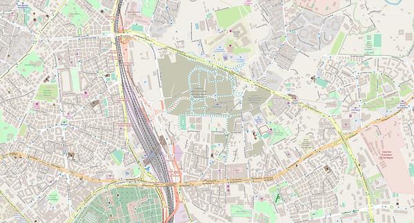 Rom Stadtplan Maps No. 15