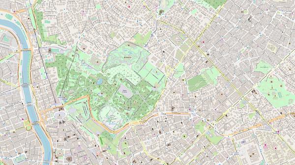 Rom Stadtplan Maps No. 10