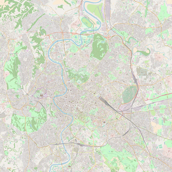 Rom Stadtplan Maps