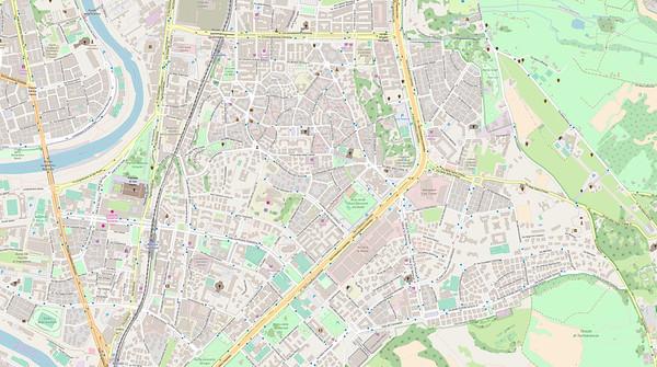 Rom Stadtplan Maps No. 7