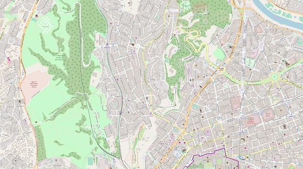 Rom Stadtplan Maps No. 3