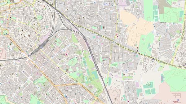 Rom Stadtplan Maps No. 17