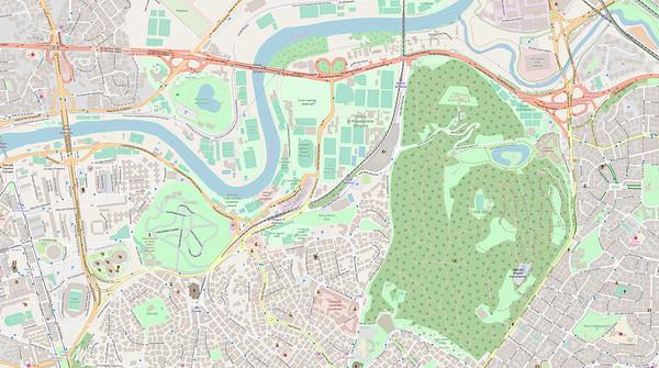 Rom Stadtplan Maps No. 11