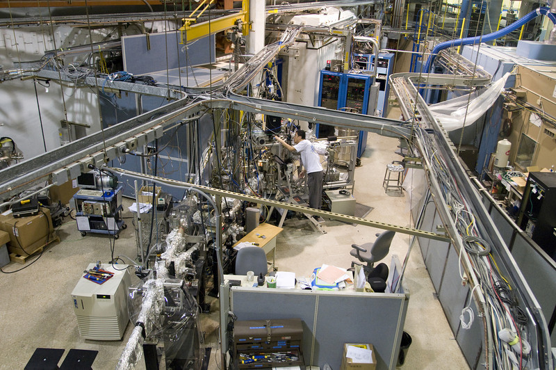 SLAC's Stanford Synchrotron Radiation Lightsource.
