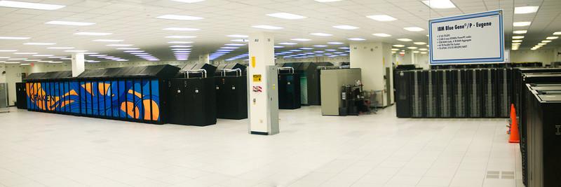 Oak Ridge's supercomputing center.