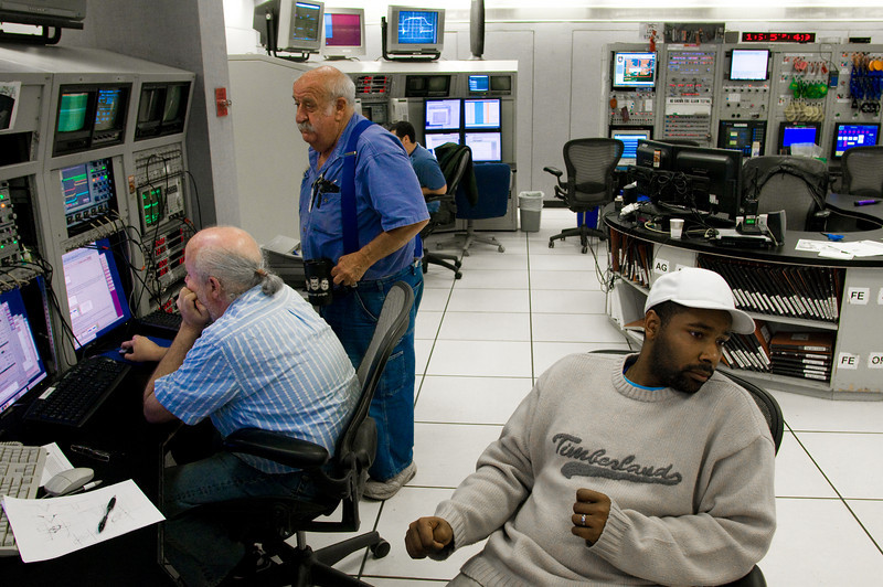 The control room for Brookhaven's RHIC.