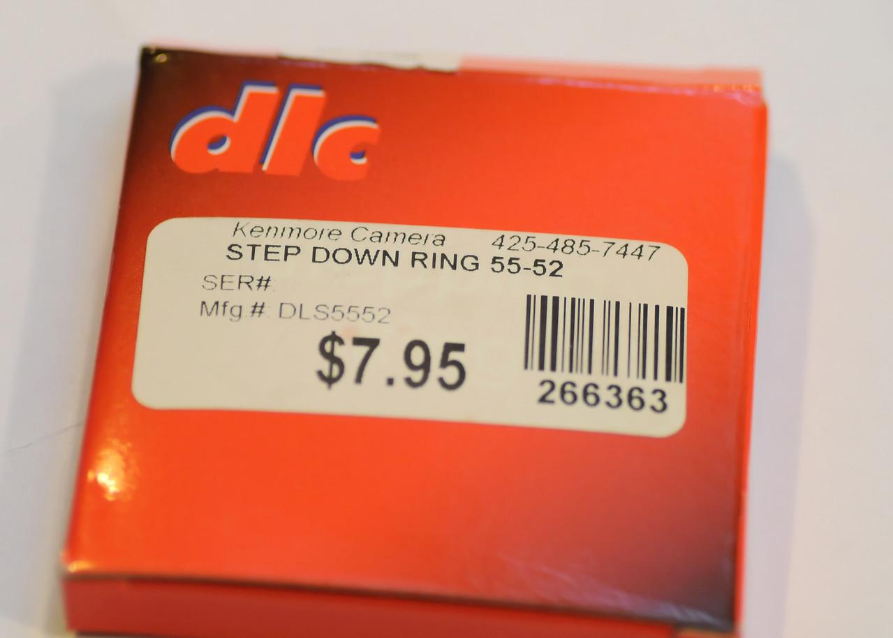 52mm to 55mm Stepdown ring