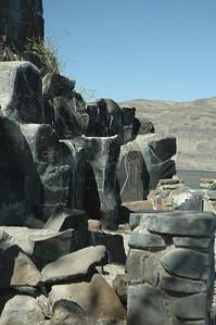 Petroglyphs, Gingko state park Vantage WA