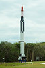Redstone Rocket with Mercury Spacecraft mockup at Kennedy Space Center