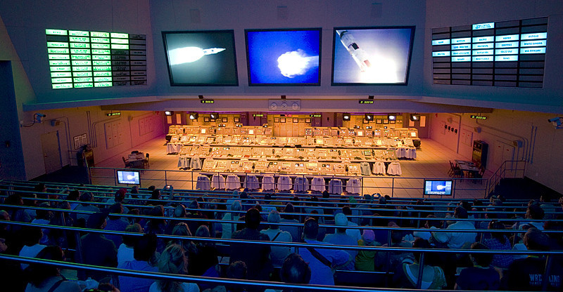 Apollo/Saturn V Center Control Room Experience at Kennedy Space Center