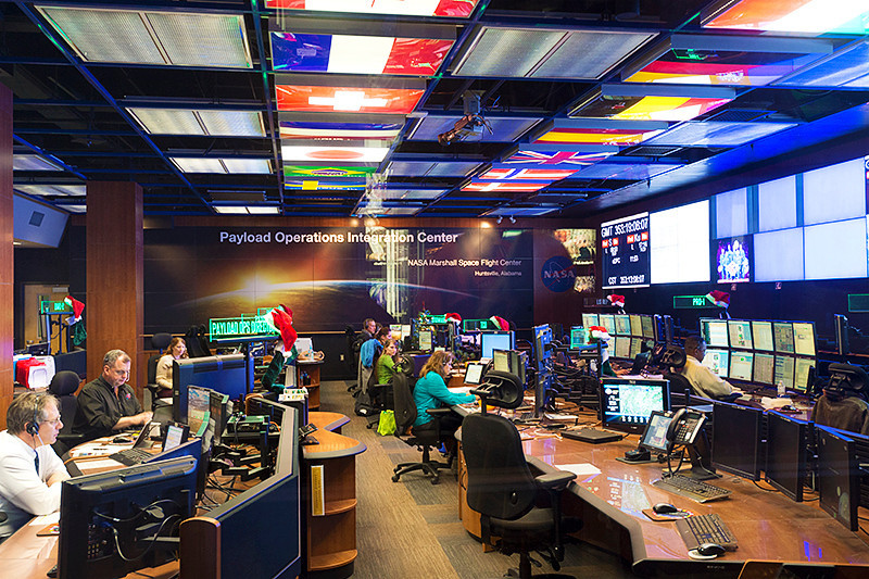 ISS Payload Operations Integration Center of the Marshall Space Flight Center International Space Station Payload Operations Center
