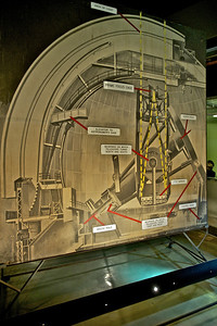 Schematic, Hale Telescope, Mt. Palomar Observatory, California 2011
