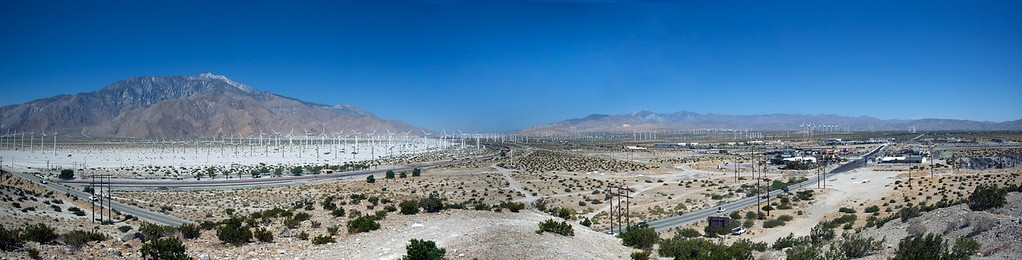Wind Generators, Southern California 2011