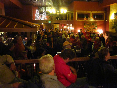 Another packed house for Science on Tap