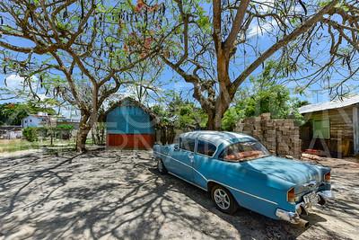 American 1950s Muscle Car in Cuba