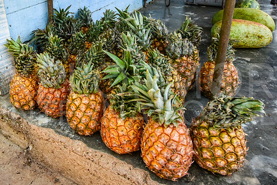 Fresh Pineapples or Piñas