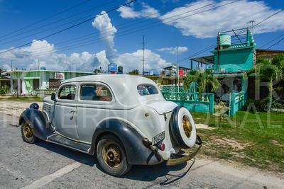 American Classic Car in Cuba