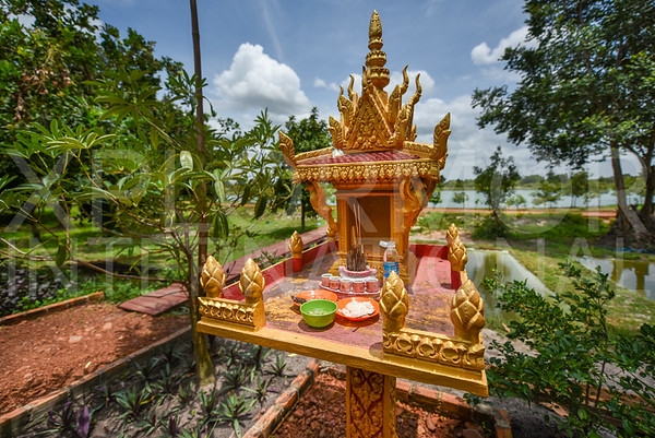 Prayer Shrine at Run Ta Ek Eco Village