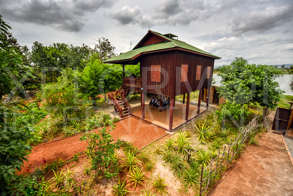 Homestay Cabin at Run Ta Ek Eco Village
