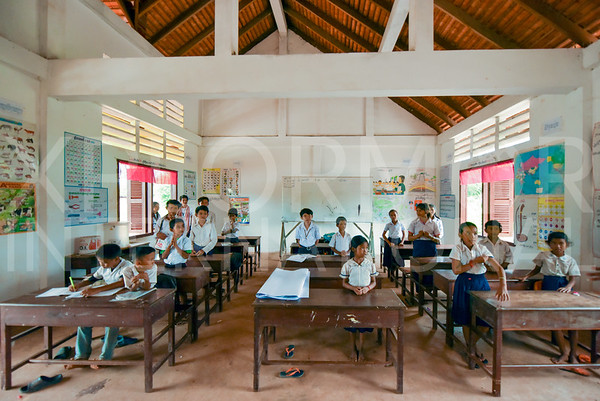 Classrooms at Run Ta Ek Eco Village