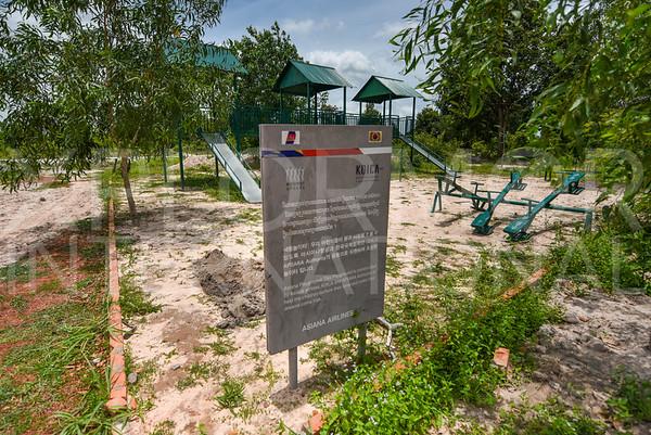 Playground at Run Ta Ek Eco Village