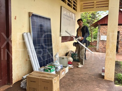 Installation of Solar Power III