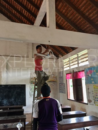 Installation Day at Run Ta Ek School