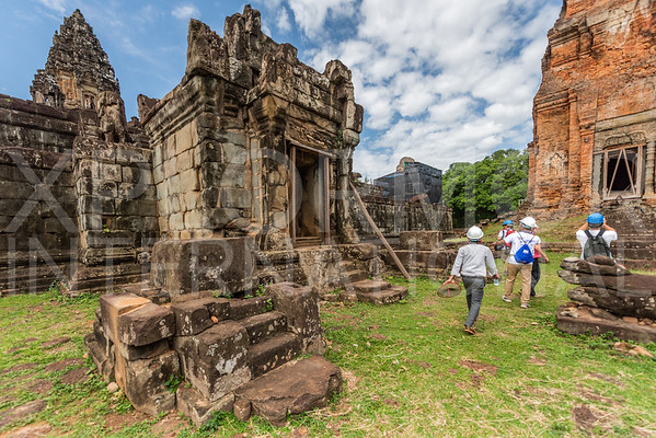 Northern Gate Pavilion at Wat Bakong