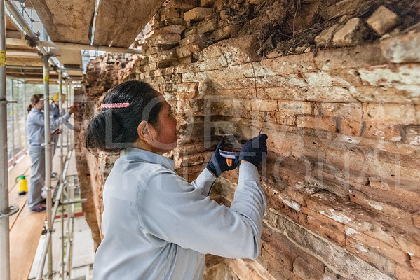 Conservation Efforts on Prasat at Wat Bakong