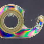 Tape Dispenser Illustrating Birefringence