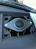 "Aftermarket tweeter and tweeter adapter   from  <a href=""http://www.car-speaker-adapters.com/items.php?id=SAK012""> Car-Speaker-Adapters.com</a>    installed in dash"