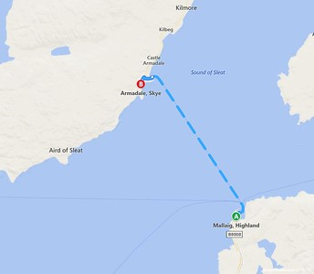 mallaig ferry route