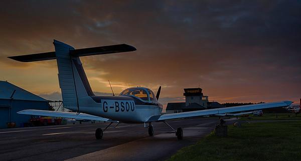 G-BSOU PA-38 Tomahawk