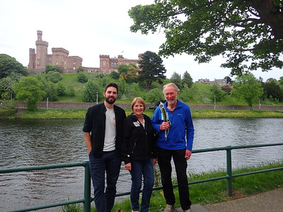Scott Finlay, Cheryl FInlay and Brian Burnie - Inverness